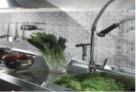 纯色厨房 时尚洋溢的空间