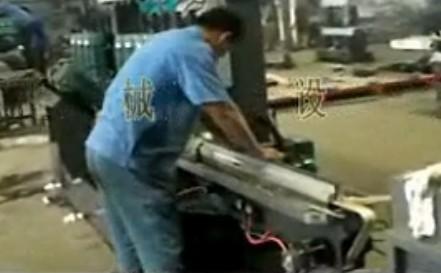 玻璃磨边机操作流程
